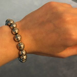 Tiffany & Co. Silver Ball Bracelet